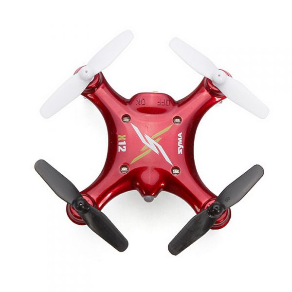 Syma-X12-red-top-view